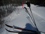Chill, not chilled, on a ski lift