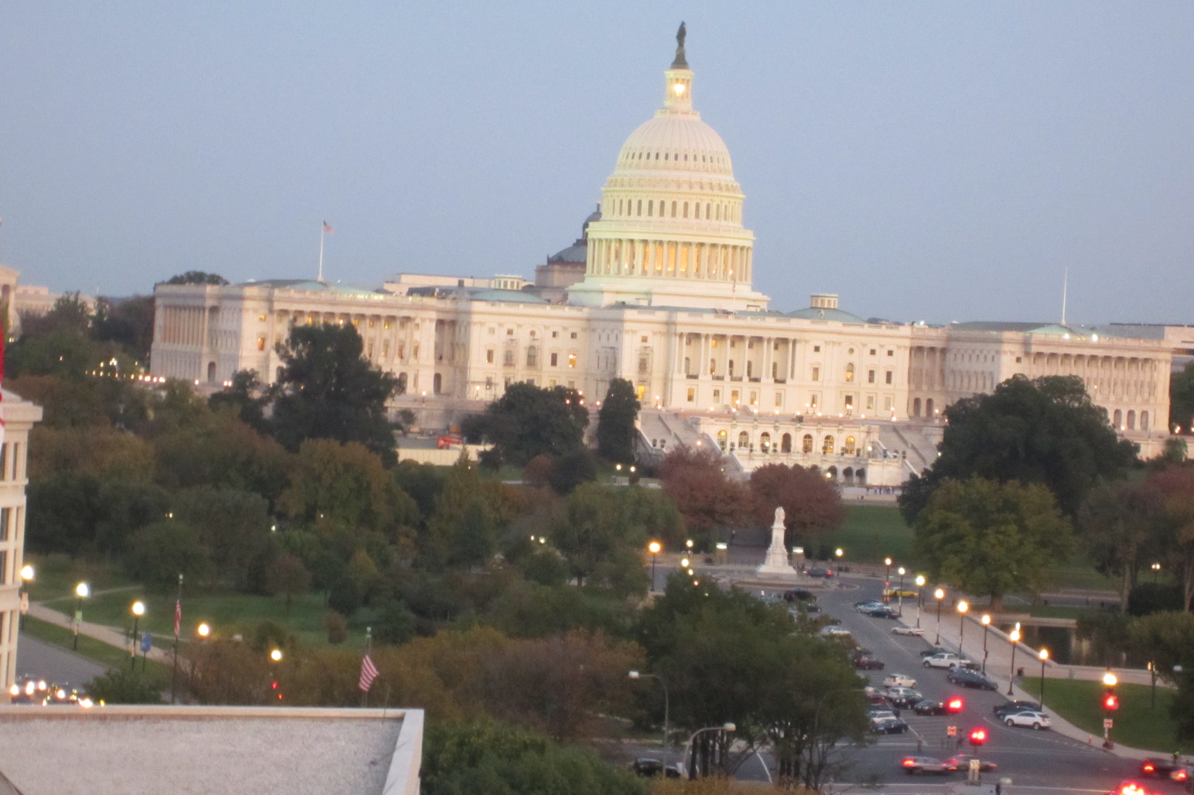 View from the Newseum Roof