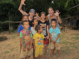 These Hmong kids missed my idea mugging the camera.