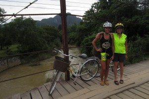 Bike safety in Luang Prabang